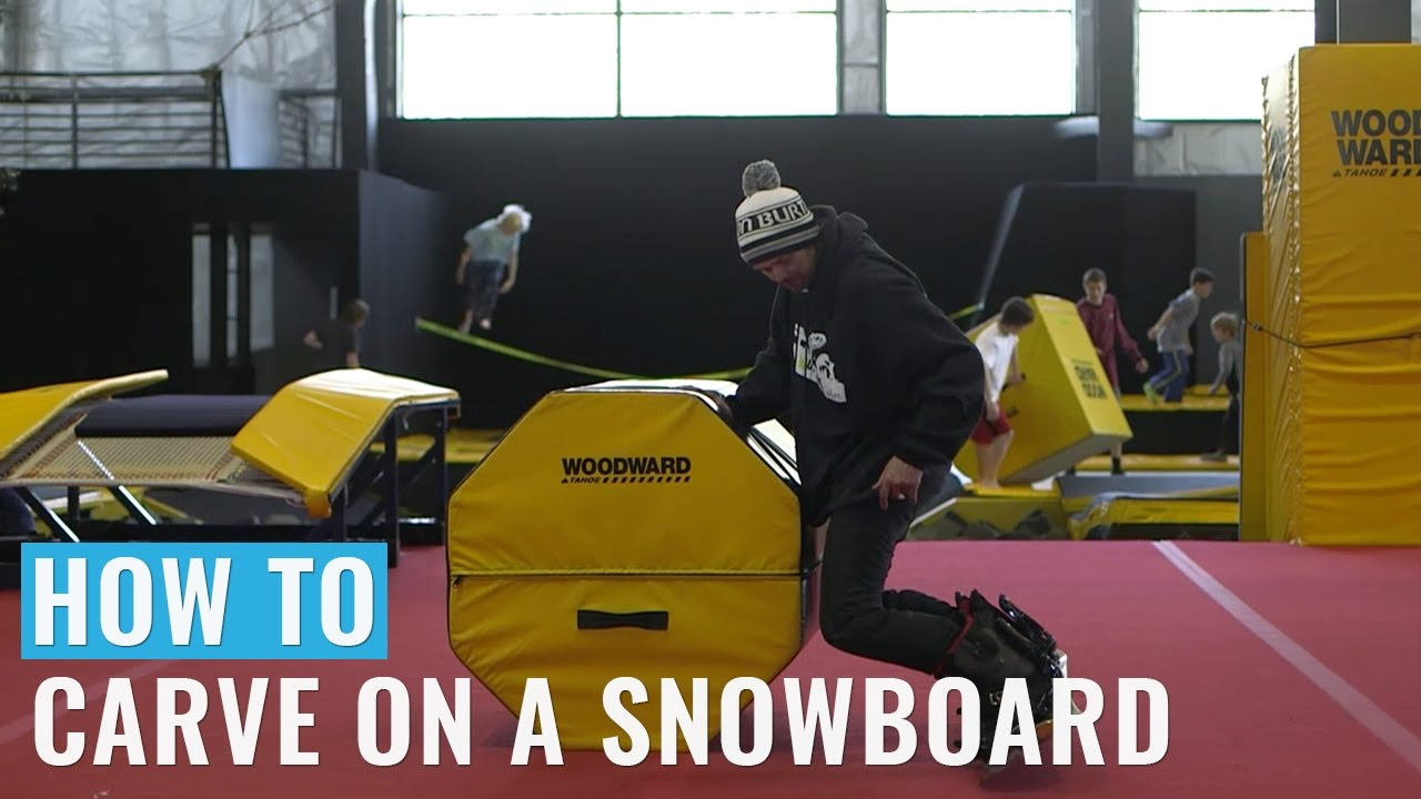 How To Carve On A Snowboard Youtube