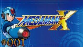 Let's Play Mega Man X |001| X