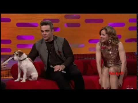 ROBBIE WILLIAMS on The Graham Norton Show 2nd Nov 2012