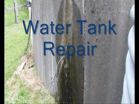 Water Tank Repair Wmv Youtube