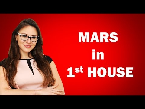 Mars in First House in the Horoscope for all 12 Signs from AstroLada.com