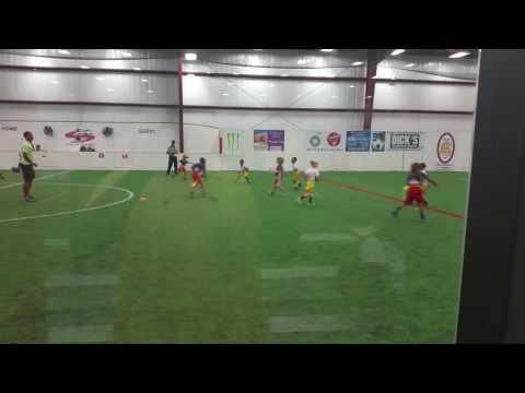 NFL FLAG FOOTBALL. Atlanta Falcons 1st grade Score indoor sports