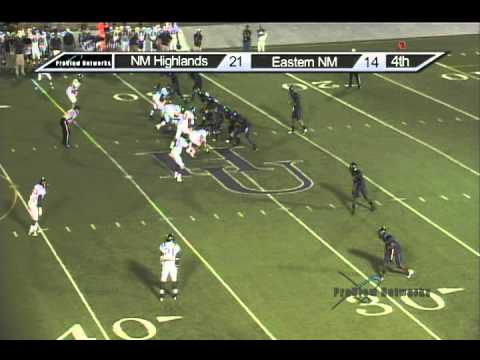 Nm Highlands Eastern Nm Football Highlights Youtube