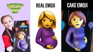 How To Make A Pregnant Emoji CAKE