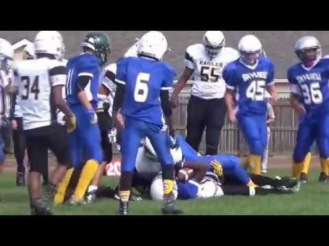 Fort Carson Eagles vs Skyview Eagles 8th grade 2016