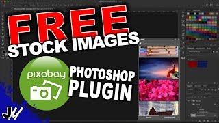 Pixabay Photoshop Plugin   Free Stock Images
