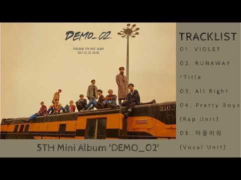 [Full Album] PENTAGON (펜타곤) - DEMO 02 [5th Mini Album] Mp3