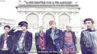 TEEN TOP - Stop Girl [Sub español + Hangul + Rom] + MP3 Download