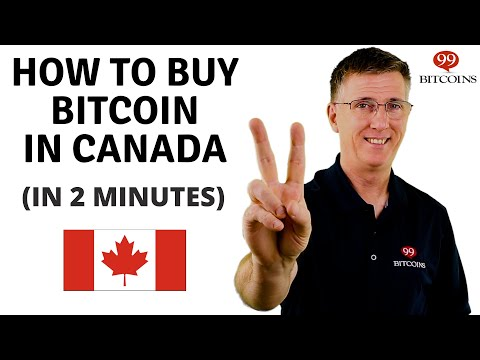 How to Buy Bitcoin in Canada in 2 minutes (2021 Updated)