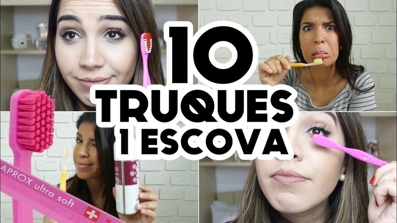 Uma Escova De Dentes E 10 Truques Feat Curiosa Juh Youtube