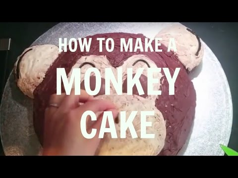 HOW TO MAKE A MONKEY CAKE YouTube