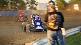 Indiana Sprint Week -USAC 2014 montage