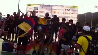 Colombia Campeon Mundial de Patinaje Yeosu 2011