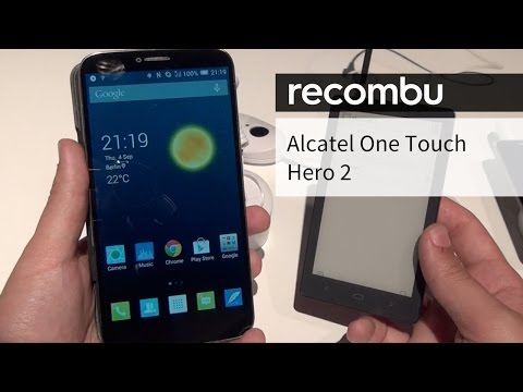 Alcatel OneTouch Hero 2 hands-on