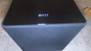 uNBOXING: KEF KUBE 12b Powered Subwoofer and quick review w/ Dreamedia Home Theater