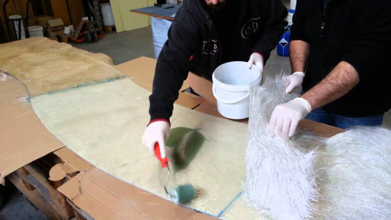 les bases de la stratification des composites impr gner du feutre verre pour un sandwich. Black Bedroom Furniture Sets. Home Design Ideas