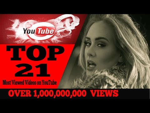 Most Viewed Videos on YouTube・(Over 1,000,000,000  views)