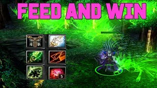 DOTA KROBELUS - HOW TO FEED AND WIN (HARD GAME)