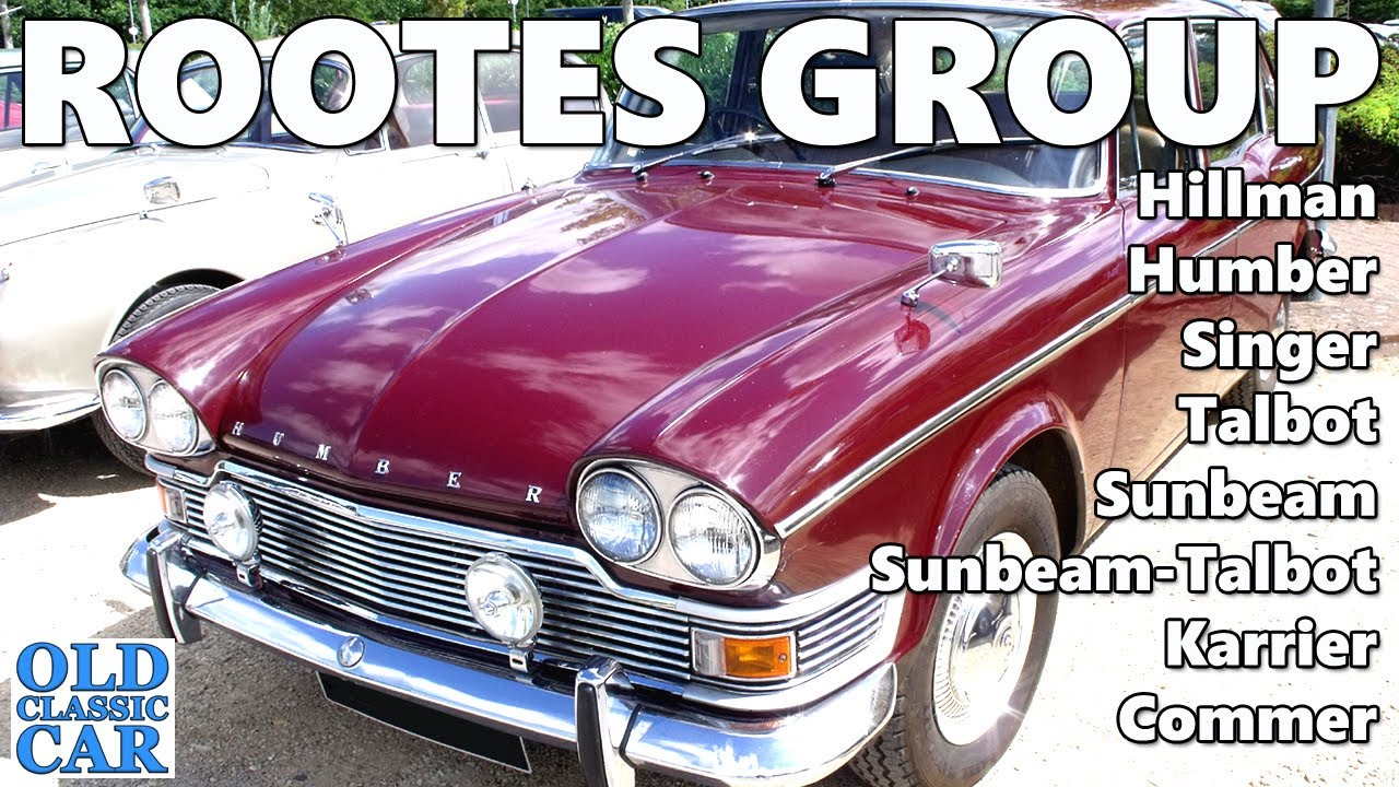 Classic Rootes Group cars, vans & lorries - 120 photos of Hillman, Humber, Commer, Sunbeam cars etc
