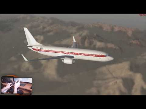 VUELO DE LAS VEGAS AL AREA 51 BOEING 737-800 FSX + REX 4 | JMGamer