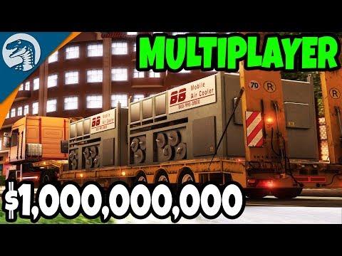 $1 BILLION  DOLLAR CONVOY, BIG MONEY CARGO | Euro Truck Simulator 2 Multiplayer Gameplay