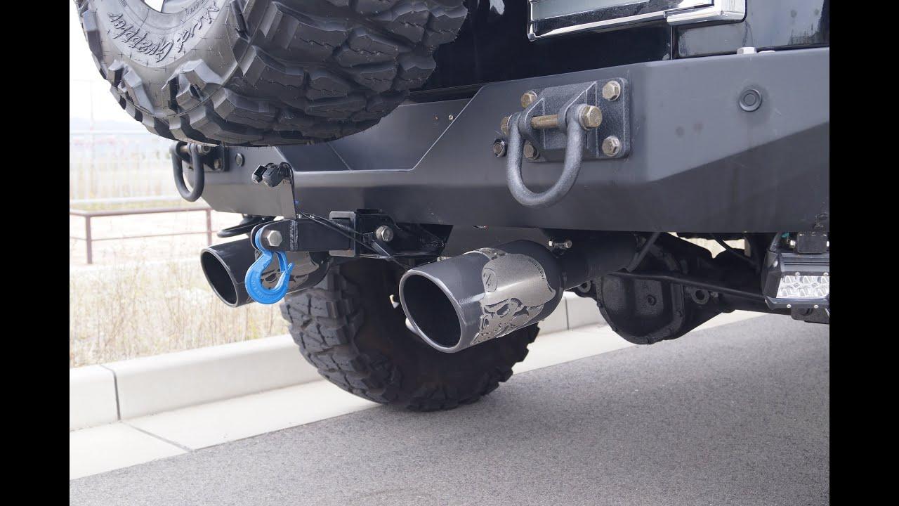 Jeep Wrangler Gibson Metal Mulisha Exhaust ジープラングラーギブソン