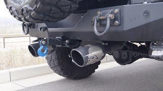 Jeep Wrangler Gibson Metal Mulisha Exhaust ジープラングラーギブソンマフラーエキゾースト ギブソン 検索動画 38