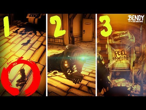 Every NEW SECRET in Bendy Chapter 1-3 Remastered! (BATIM 2018 Updates)