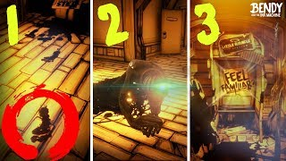 Every NEW SECRET In Bendy Chapter 1 3 Remastered BAT M 2018 Updates