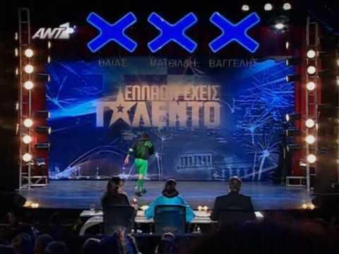 Ellada Exeis Talento - I Mpala Thelei Tragoudi
