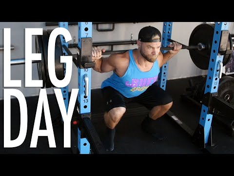 LEGS (Quads, Hams & Calves) WORKOUT | Buff Dudes New Gym Routine 2019