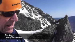 Mt Washington summit via Damnation Gully, Feb 2012