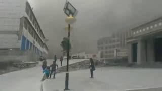 地震时的超恐怖的一幕,尤其是游泳池那个
