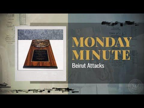 Monday Minute Ep. 43 (Season 2) — Beirut Attack