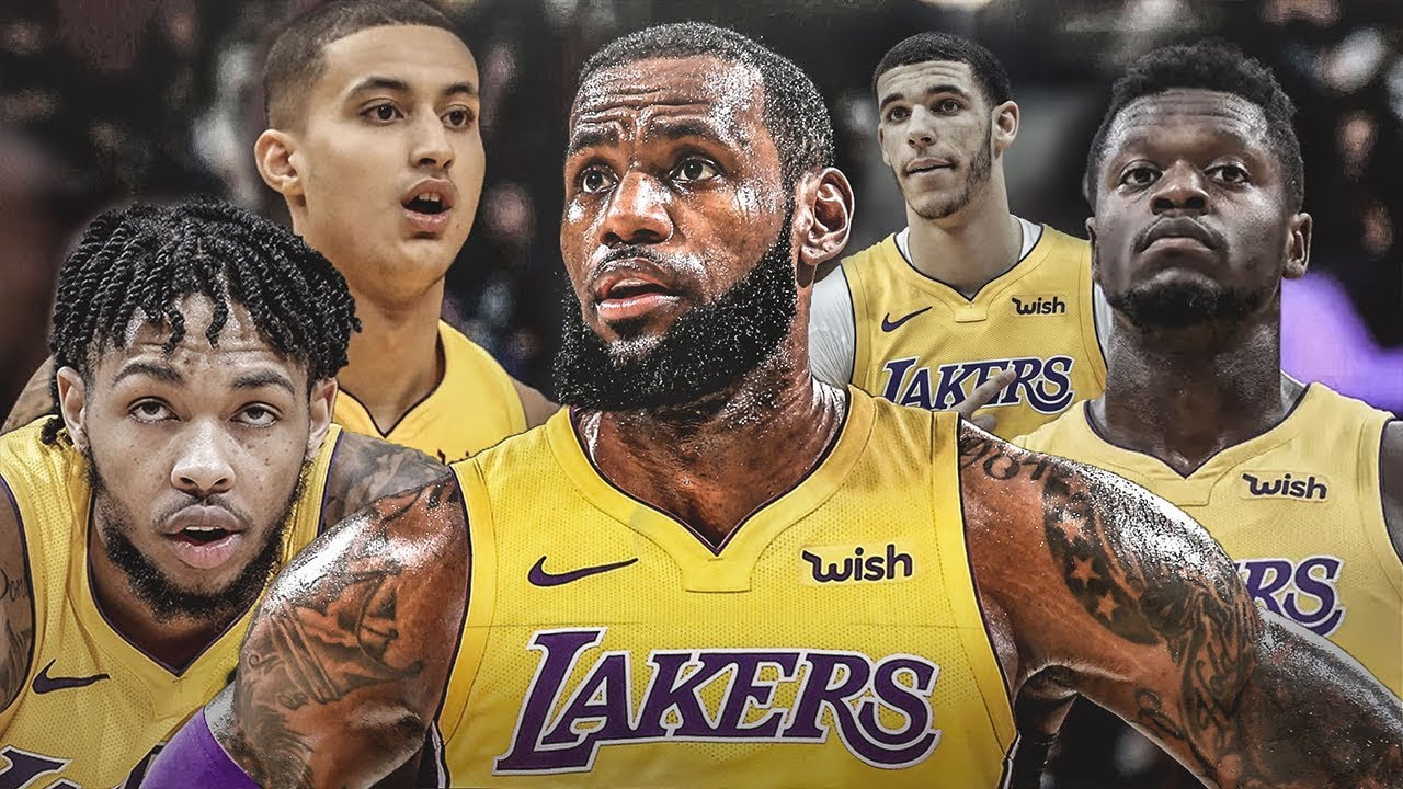 56c0c4346e9 Lebron James SIGNS WITH The Los Angeles Lakers - 2018 NBA Season Simulation