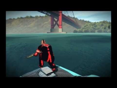 APB Reloaded (vegas 4x4) lets walk on the water in waterfront