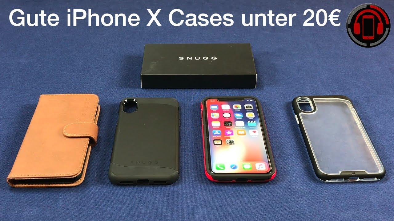 snugg iphone x case