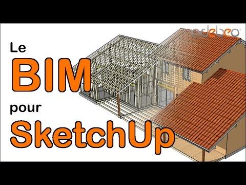 PlusSpec #1 :  présentation de l'extension BIM pour  SketchUp