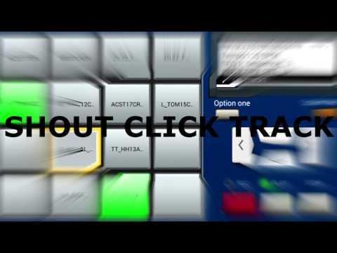 SHOUT CLICK TRACK (151 BPM CLICK TRACK) DOWNLOAD