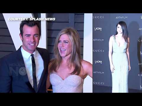 Selena Gomez - Justin Theroux DATING, Jennifer Aniston FURIOUS!