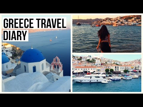GREECE TRAVEL DIARY - Athens, Kalabaka, Meteora, Hydra, Mykonos, Santorini