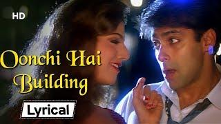 Oonchi Hai Building - With Lyrics | Judwaa | Salman Khan | Karishma Kapoor | Rambha | Party Song