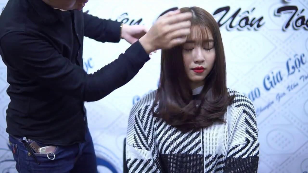 Dạy cắt uốn đẹp dành cho tóc dày | Cao Gia Lộc | Khái quát những thông tin liên quan đến tóc dày nên cắt kiểu nào cho nữ chính xác