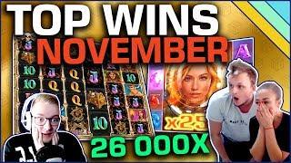 Top 7 Slot Wins of November 2019