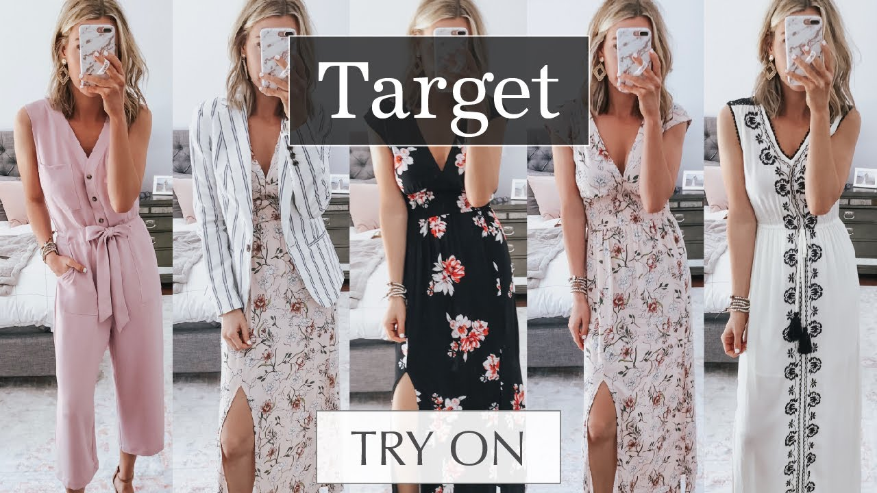 fbd8cfc7a9 Huge Spring Target Try On Haul  Spring Outfits 2019 - YouTube