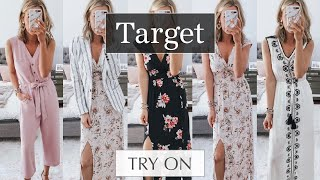 Huge Spring Target Try On Haul Spring Outfits 2019