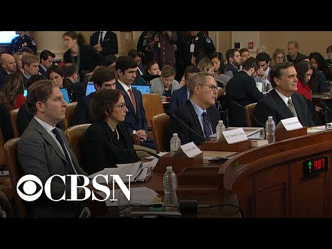 Day 6, Part 7: Nadler and Democratic counsel question witnesses