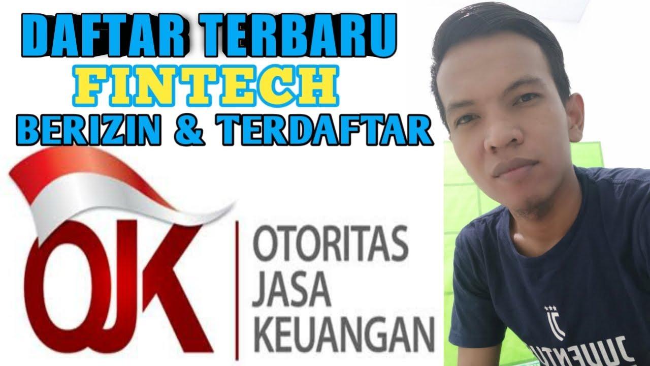 Pinjaman Online Resmi Daftar Fintech Berizin Dan Terdaftar