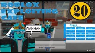 Roblox Exploiting SizzleBurger Restaurant Destruction Ep.20