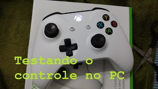 CONFIGURANDO CONTROLE XBOX ONE S COM O BLUETOOTH 4.0 NO PC